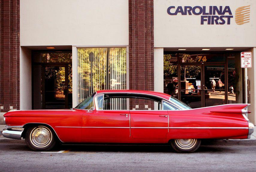 <p>The entirety of '50s automotive fashion in America can practically be summed up in the '59 Cadillac. Huge, heavy, and comically over-styled, it's a classic from a bygone era—and highly desirable in today's collector market.</p>
