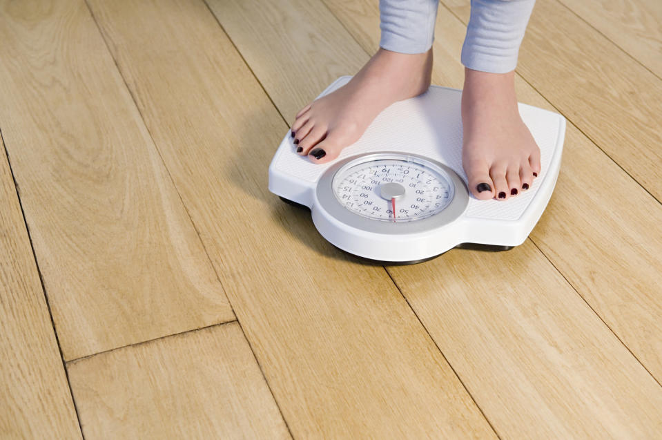 Don't be a slave to the scales? [Photo: Getty]