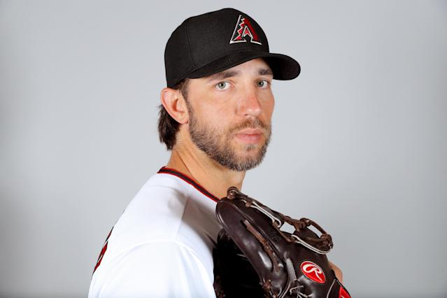 Madison Bumgarner will make his Diamondbacks debut on opening day. (Photo by Alex Trautwig/MLB Photos via Getty Images)