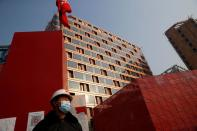 FILE PHOTO: An organised media tour to Beijing Winter Olympic and Paralympic Village