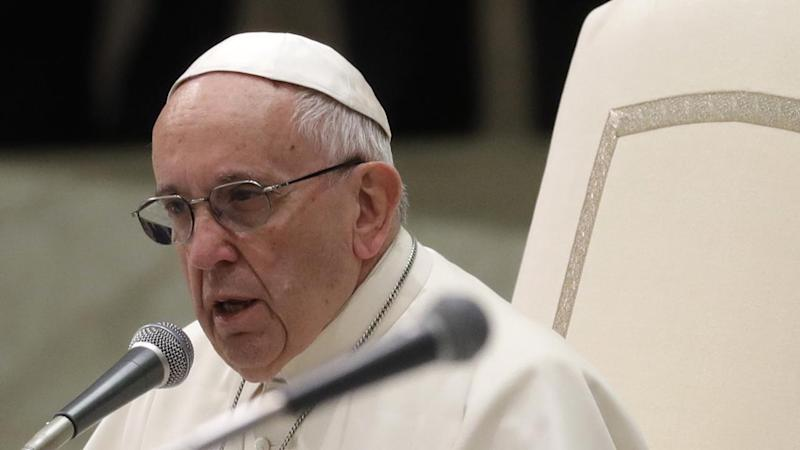 The Pope says he is grieving and praying for the repose of Cuban revolutionary leader Fidel Castro.