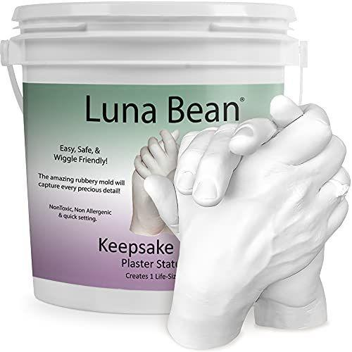 """<p><strong>Luna Bean</strong></p><p>amazon.com</p><p><strong>$39.95</strong></p><p><a href=""""https://www.amazon.com/dp/B01E4LWBLQ?tag=syn-yahoo-20&ascsubtag=%5Bartid%7C2139.g.37612148%5Bsrc%7Cyahoo-us"""" rel=""""nofollow noopener"""" target=""""_blank"""" data-ylk=""""slk:BUY IT HERE"""" class=""""link rapid-noclick-resp"""">BUY IT HERE</a></p><p>This hand casting kit by Luna Bean went viral on TikTok and Instagram due to its undeniable sentimental value. The kit is super easy to use, allowing your loved ones to cast a detailed version of their hands clasped together. Your partner will love it, your mom will cry, and your buddy will just cast his middle finger. Needless to say, it's the perfect gift for so many people.</p>"""