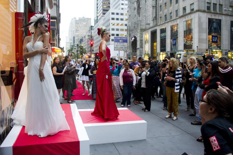 The party's over for Fashion's Night Out