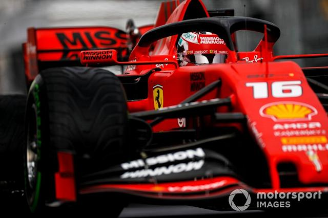 "Charles Leclerc, Ferrari SF90 <span class=""copyright"">Zak Mauger / Motorsport Images</span>"