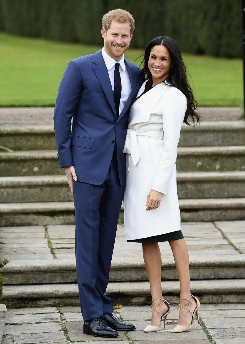 Harry and Meghan announced their engagement in November. Photo: Getty