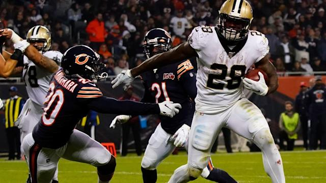 Latavius Murray leads punishing second-half run game for New Orleans Saints against Bears