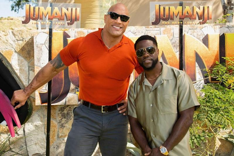 Dwayne Johnson and Kevin Hart   Victor Chavez/Getty Images
