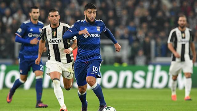 Having returned to form with Lyon this season, Nabil Fekir is happy that some have compared his talents to Lionel Messi.