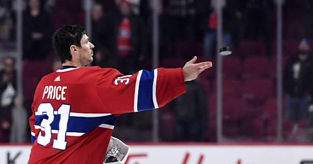 Carey Price was Tuesday's MVP, and that isn't a surprise
