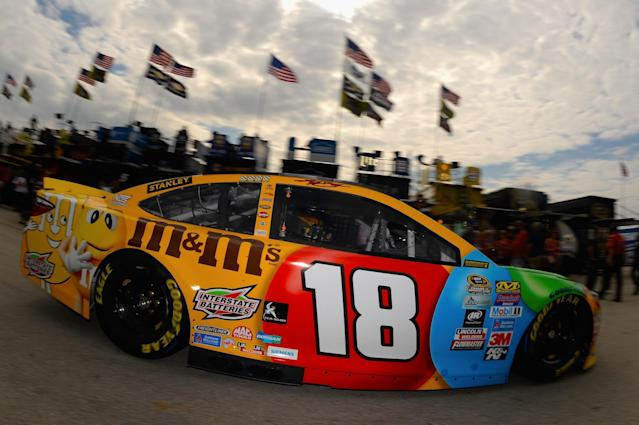 Kyle Busch is going after his second title. (Getty)