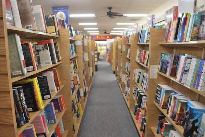 Park Road Books will continue curbside pickup and shipping books only over the next few weeks.