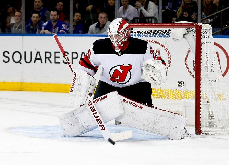 Devils goalie Mackenzie Blackwood