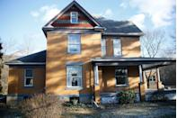 """<p>The house featured in 1991 classic thriller where """"Buffalo Bill"""" stalks Clarice Starling (Jodie Foster) is actually located in rural Pennsylvania near Pittsburgh. And, in 2016, it sold for nearly $200,000. However, luckily for the new owner, the basement used in the movie was actually on a soundstage. The scariest part of this house? It has five bedrooms but only ONE bathroom. Talk about a horror.<br> </p><p>8 Circle St. Layton, Perryopolis, Pennsylvania 15473</p>"""