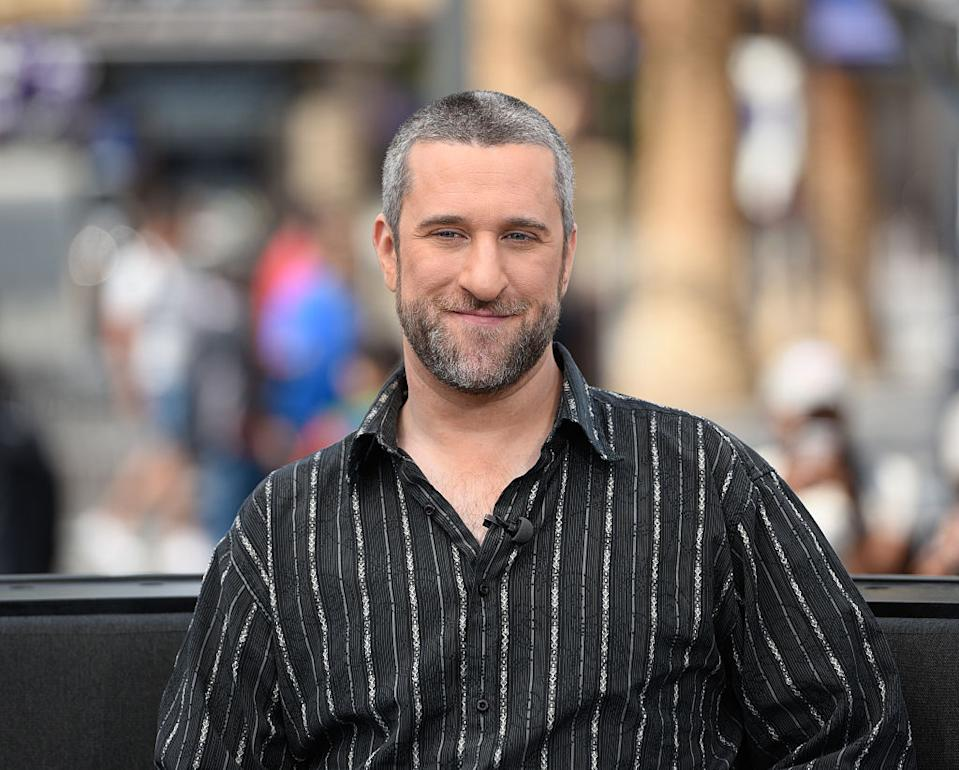 Dustin Diamond has passed away from small cell carcinoma, lung cancer, pictured in May 2016. (Getty Images)