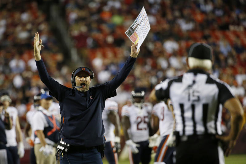 Hoge's 10 Bears Things: Reasons to be optimistic about Matt Nagy's offense