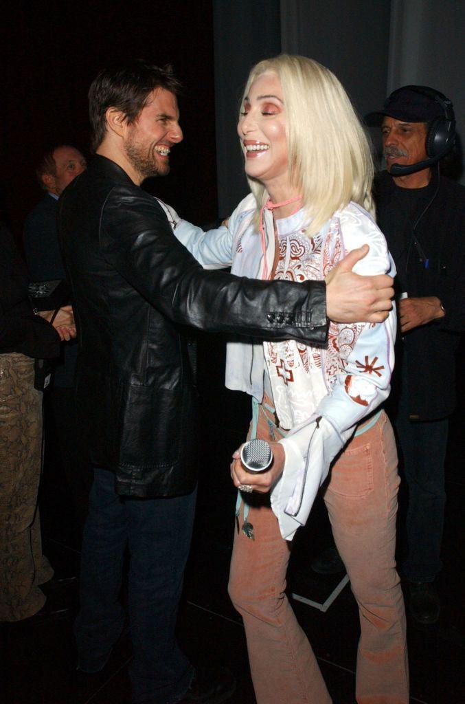 """<p>Er, yeah, so this surprising relationship happened. </p><p>In a segment called Truth or Cher on <a href=""""http://www.nydailynews.com/entertainment/gossip/cher-lesbian-fling-tom-cruise-top-best-lovers-article-1.1385306"""" rel=""""nofollow noopener"""" target=""""_blank"""" data-ylk=""""slk:Watch What Happens Live with Andy Cohen"""" class=""""link rapid-noclick-resp"""">Watch What Happens Live with Andy Cohen</a>, Cher revealed she once dated Cruise, who is 16 years her junior. """"He was in the top five,"""" she joked when asked to rank her lovers. """"It's not a long list, just a good list. It could have been a great big romance, because I was crazy for him.""""</p>"""