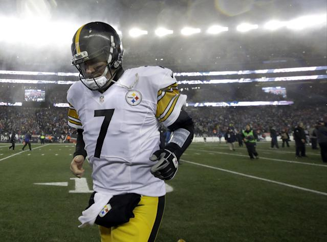 Ben Roethlisberger announced on Twitter that he informed the Pittsburgh Steelers he'll be back in 2017. (AP)