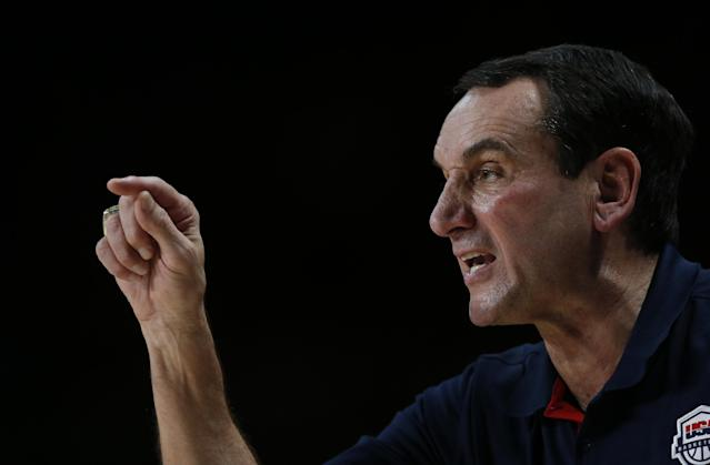 NBA needs to pull stars from USA Basketball, which is showcasing only Duke's coach