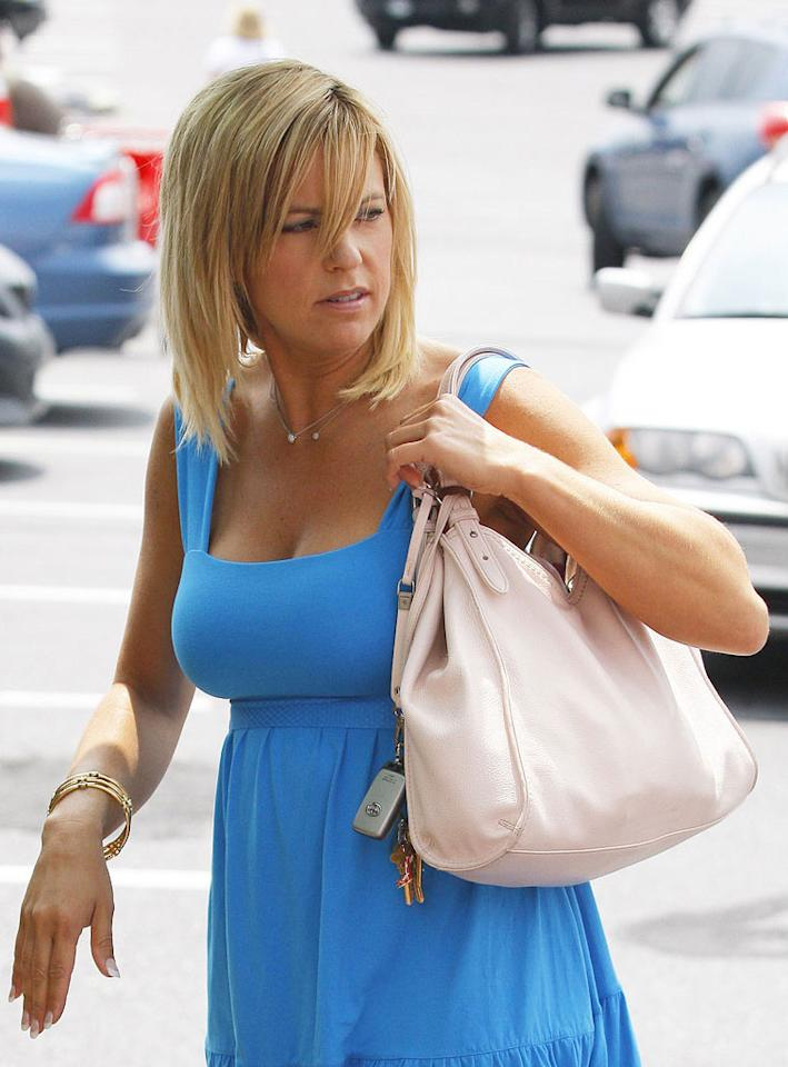 """Another reality starlet, Kate Gosselin, who was snapped leaving her local Target Tuesday, let it slip on her blog that one of her new jobs on the TLC show """"Twist of Kate"""" will be a little less glam than her """"Dancing With the Stars"""" gig -- she'll be working as a trash collector. Good things come to those who wait. C. Watts/<a href=""""http://www.infdaily.com"""" target=""""new"""">INFDaily.com</a> - June 1, 2010"""
