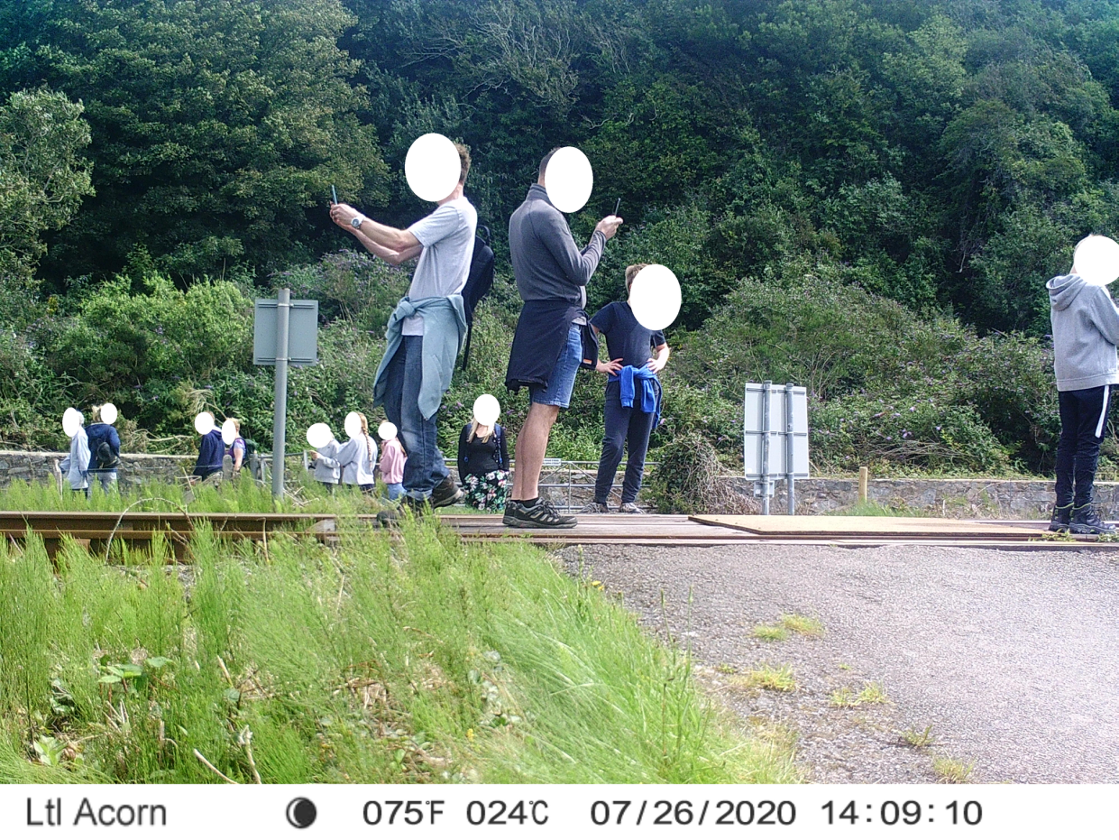 A campaign has been launched to warn people of the dangers of level crossings. (Network Rail)