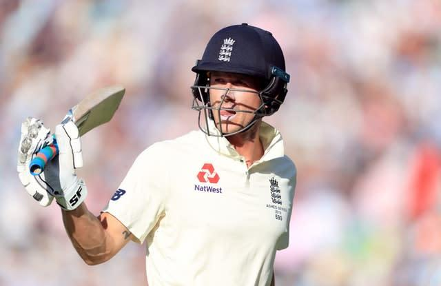 Joe Denly made a half-century in each of the last three Ashes Tests (Mike Egerton/PA)