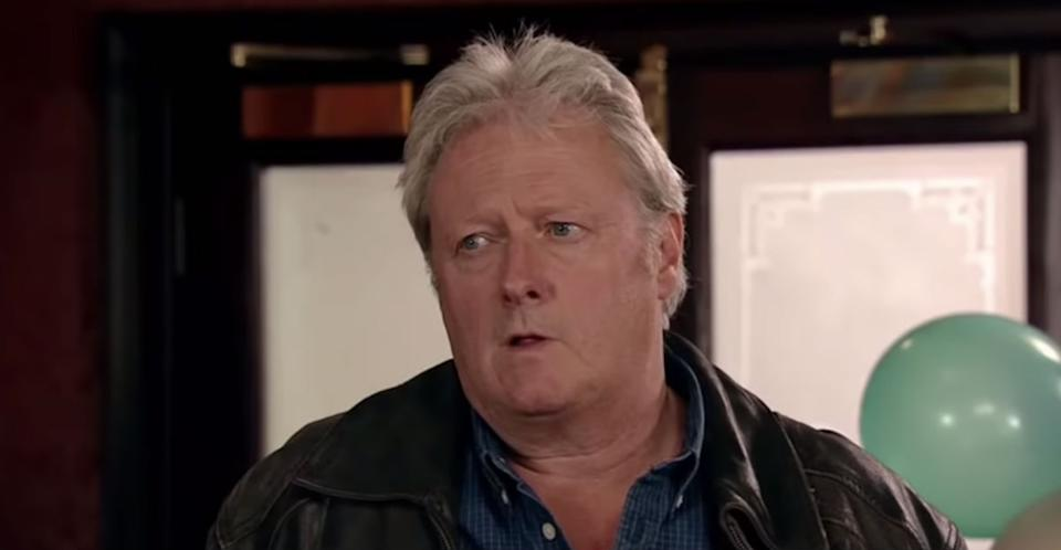 Charles Lawson played Jim McDonald in Coronation Street (Photo: ITV)
