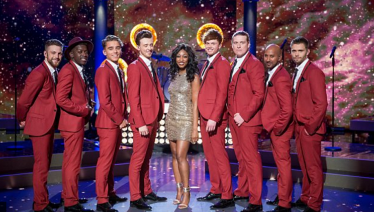 The starstruck Beverley Knight group