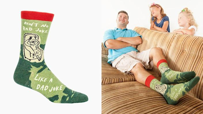 You can never have too many funny socks.