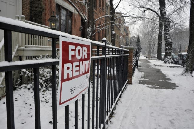 House for rent in the middle of winter