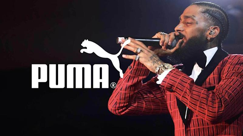 "<p>Nipsey Hussle will be honored in a posthumous collection with Puma, and the athletic giant is focused on supporting Nipsey's children after the rapper's death. During the Wall Street Journal's ""Future of Everything Festival"" in NYC, Puma executive Adam Petrick was leading a talk with brand ambassador, G-Eazy, when the news was revealed. Nipsey and […]</p> <p>The post <a rel=""nofollow"" rel=""nofollow"" href=""https://theblast.com/puma-nipsey-hussle-posthumous-collaboration/"">Puma Will Release Posthumous Nipsey Hussle Collaboration</a> appeared first on <a rel=""nofollow"" rel=""nofollow"" href=""https://theblast.com"">The Blast</a>.</p>"