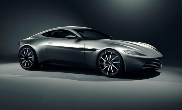 Gray Aston Martin DB-11 (2016)