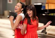"""<p>The cast of <em>Glee</em> saw 207 of their songs <a href=""""https://www.billboard.com/music/glee-cast/chart-history"""" rel=""""nofollow noopener"""" target=""""_blank"""" data-ylk=""""slk:top the chart on Billboard's Hot 100"""" class=""""link rapid-noclick-resp"""">top the chart on Billboard's Hot 100</a>. The most popular covers were """"Don't Stop Believin,'"""" """"Forget You,"""" and """"Teenage Dream.""""</p>"""