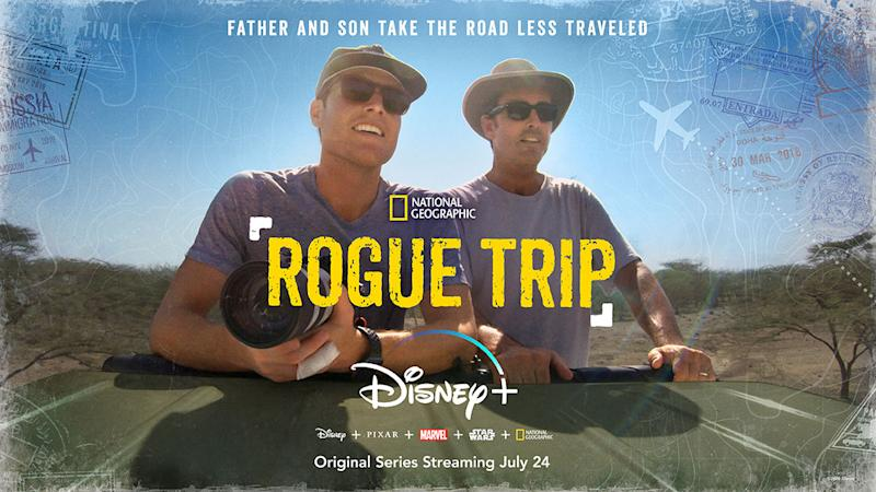 Key Art for Rogue Trip. (Disney+)