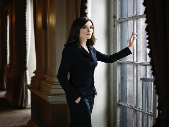 Law maker: Caulfield's credits include legal drama 'The Good Wife'