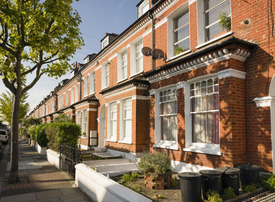 Houses in London. Photo: Getty Images