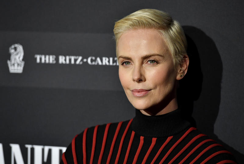 CENTURY CITY, CALIFORNIA - FEBRUARY 04: Charlize Theron attends Vanity Fair: Hollywood Calling - The Stars, The Parties And The Power Brokers at Annenberg Space For Photography on February 04, 2020 in Century City, California. (Photo by Frazer Harrison/Getty Images)
