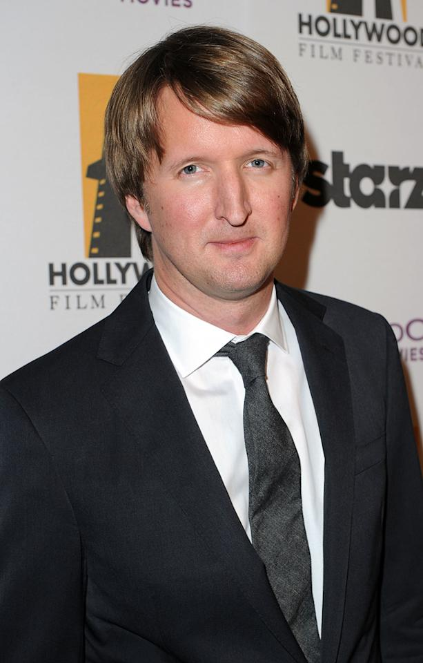 """<a href=""""http://movies.yahoo.com/movie/contributor/1808845271"""">Tom Hooper</a> attends the 14th Annual Hollywood Awards Gala at the Beverly Hilton Hotel on October 25, 2010."""