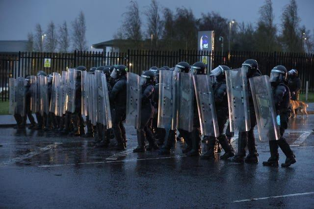 Northern Ireland unrest