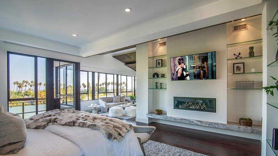 One of the bedrooms with a scenic view. - Credit: Redfin