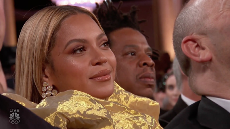Beyonce has shocked fans with a surprising move at the Golden Globes. Photo: NBC