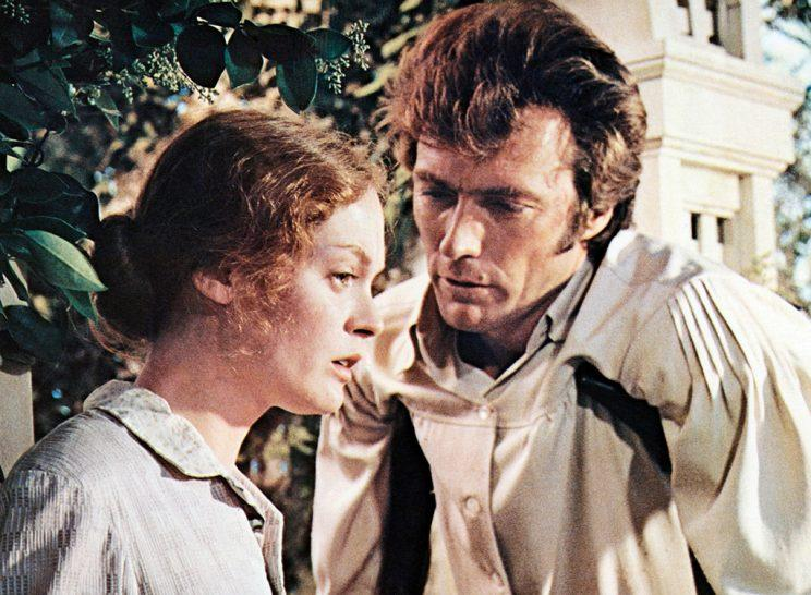 Elizabeth Hartman and Clint Eastwood in 'The Beguiled'