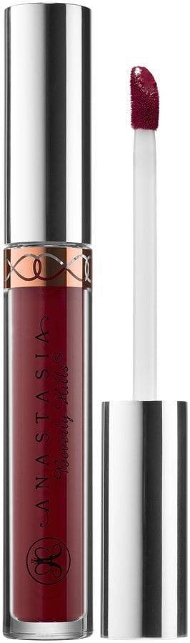 """<p>Nothing applies as smoothly as the <span>Anastasia Beverly Hills Liquid Lipstick</span> ($20). It's available in a whopping 30 hues, so everyone will find a shade they love. It's an ultrasaturated and thin formula that will stay put for hours and won't smear. You also won't have to reapply your lipstick, making it perfect for the woman on the go.</p> <p>One customer raved that it's """"my absolute favorite lipstick. No smudging. Long wear. Very pigmented. Doesn't dry out lips. Amazing. I continue to buy this. It is a must have for my beauty regime.""""</p>"""