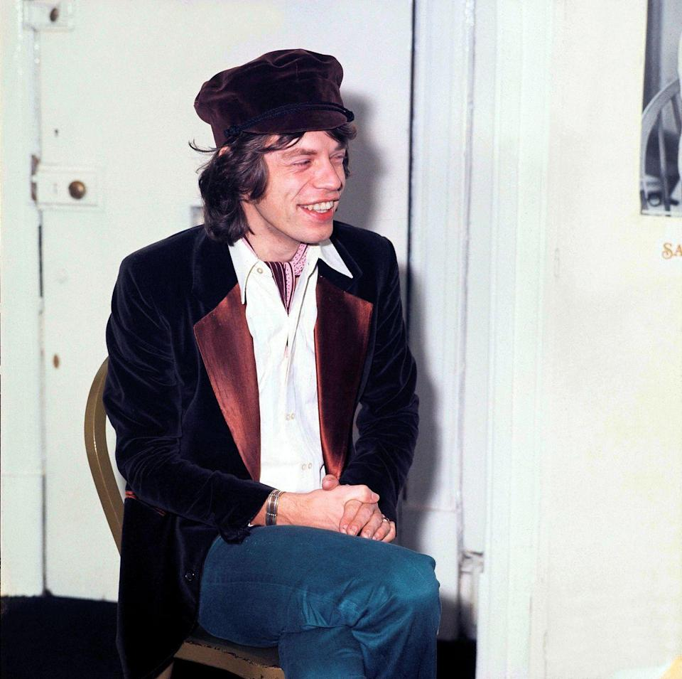 <p>Mick Jagger in London, England in 1970.</p>