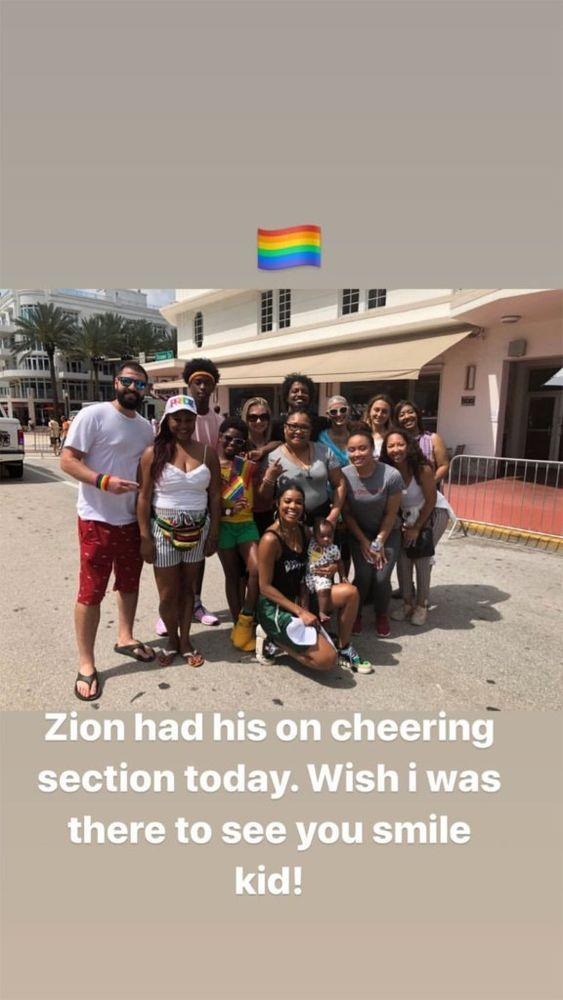 Gabrielle Union Leads 'Cheering Section' for Dwyane Wade's