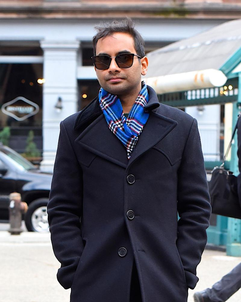 Ansari, here in New York City in December, admitted he was