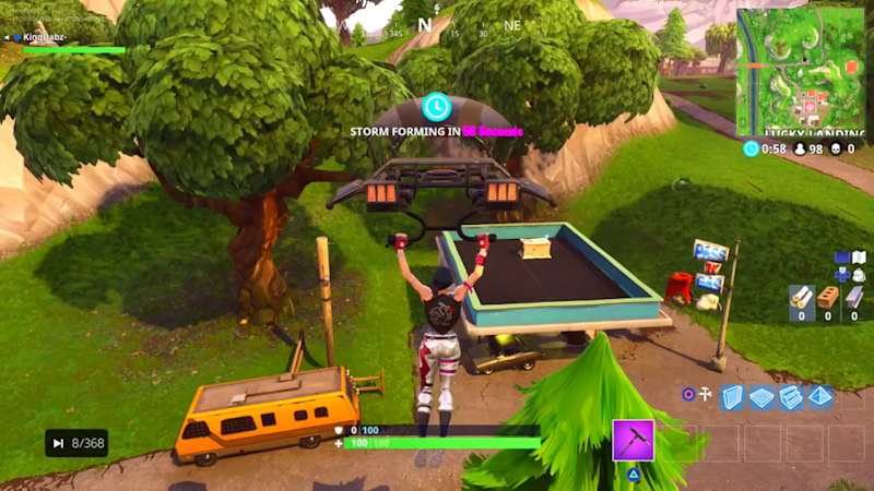 'Fortnite' Gas Station Lucky