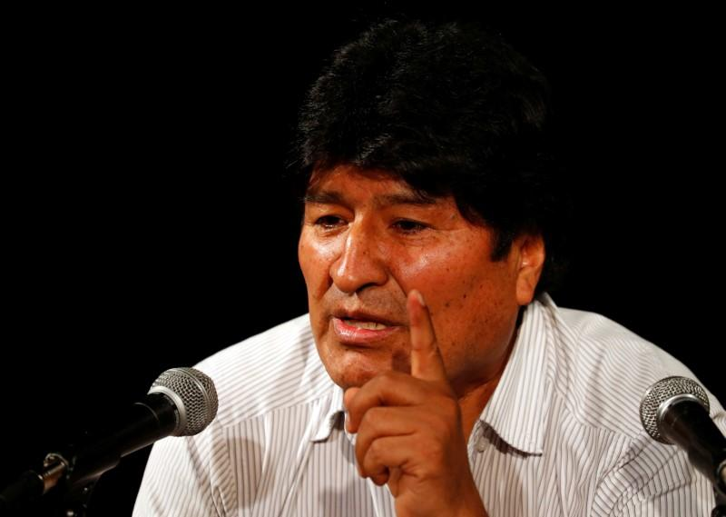 Bolivia pressures Argentina over Morales call for 'armed militias'