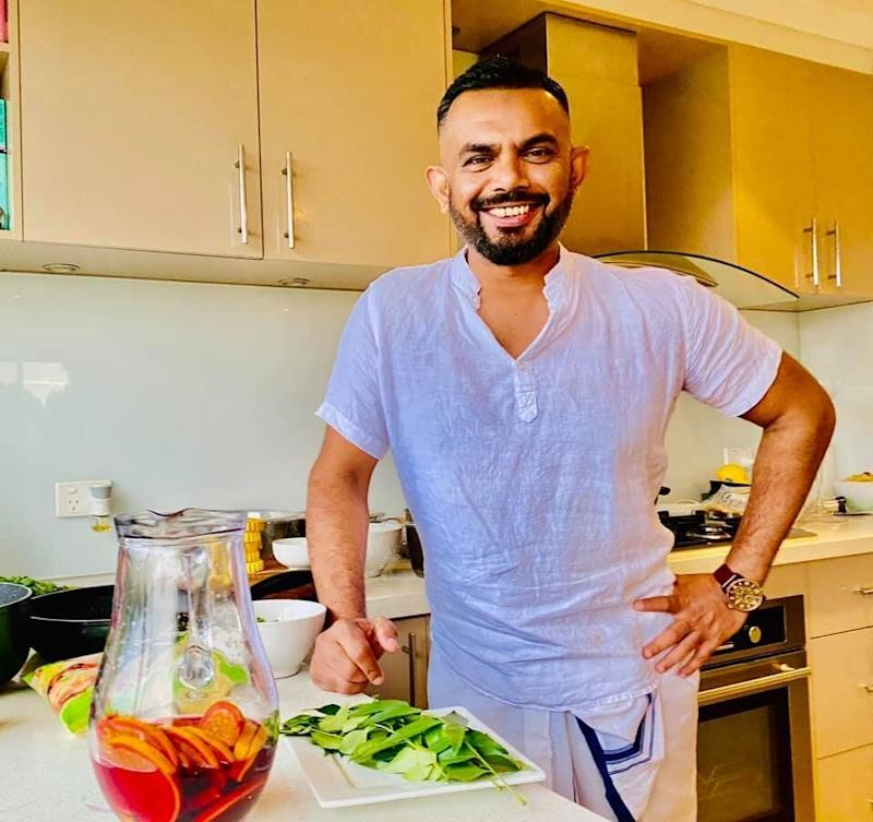 Virosh Perera lives in Endeavour Hills in Victoria's Casey local government area – one of the COVID-19 hot spots. (Photo: Virosh Perera )