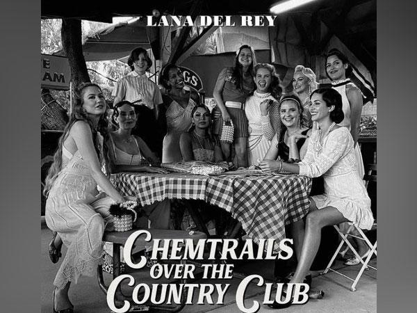 Cover art of Lana Del Rey's new album 'Chemtrails Over the Country Club'