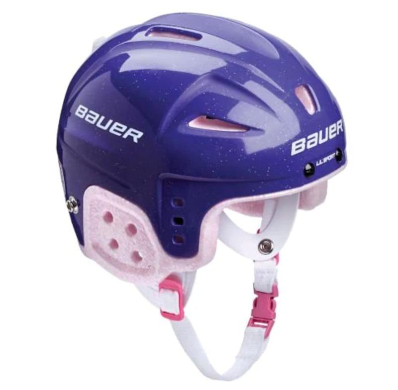 "Safety first! You've gotta add a helmet if you're getting skates. Get this one at <a href=""https://www.canadiantire.ca/en/pdp/bauer-lil-sports-hockey-helmet-youth-purple-0836707p.html?rrec=true#spc"" target=""_blank"" rel=""noopener noreferrer"">Canadian Tire</a> for $38.24."